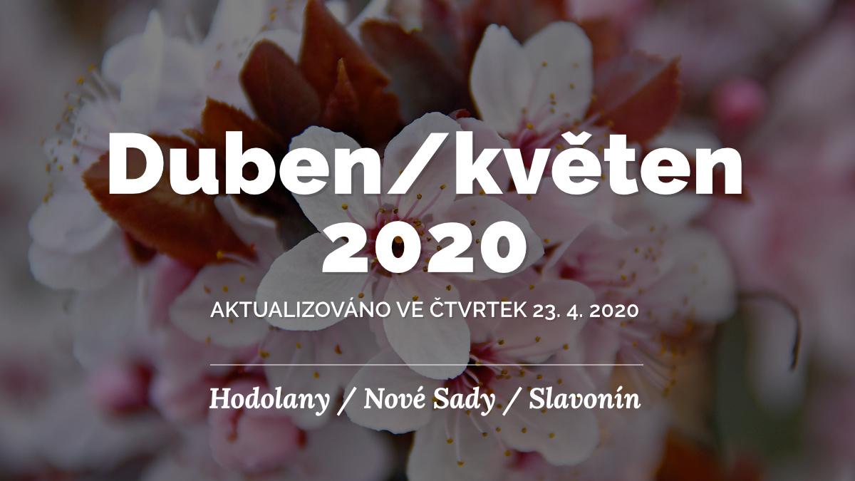 Duben/květen 2020